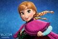 Картинка Frozen, Walt Disney, Anna, Холодное Сердце, 2013, Animation Studios