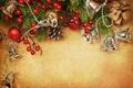Картинка Рождество. Новый Год, Merry, украшения, ягоды, елка, Christmas, decoration, xmas