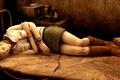 Картинка кровать, ужасы, Хизер, сон, Silent Hill 3