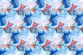 Картинка фон, праздник, текстура, девочка, Новый год, снегурочка, белочка
