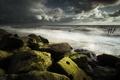 Картинка море, берег, камни