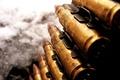 Картинка Пулемётная лента, оружие, патроны, крупный калибр