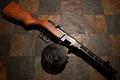 Картинка оружие, пистолет-пулемёт, Шпагина, советский, ППШ