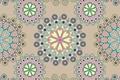 Картинка орнамент, узор, кремовый фон, текстура