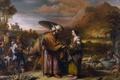 Картинка картина, мифология, Гербранд ван ден Экхоут, Ребекка и Елиезер
