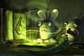 Картинка Кролики, болото, зловоние