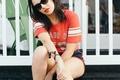 Картинка Charli XCX, 2015, фотосессия, певица, Lollapalooza