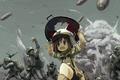 Картинка Девочка, война, бежит, солдаты, бомбы