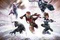 Картинка War Machine, арт, Paul Bettany, Vision, комикс, Пол Беттани, Captain America: Civil War, Первый мститель: ...