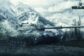 Картинка Игры, Games, Арт, Леопард 1, Wargaming Net, World of Tanks, Art, FuriousGFX, Leopard 1