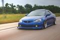 Картинка honda, хонда, acura, speed, blue, integra, face, type s, front, rsx, tuning, japan, low, road, ...