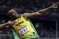 Картинка фон, спортсмен, мужчина, Ямайка, жест, бегун, Men, чемпион мира, спринтер, Лондон 2012, London 2012, world ...