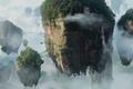 Картинка Avatar, отрова, скалы, облака, аватар