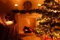Картинка merry christmas, рождество, новый год, christmas tree, christmas