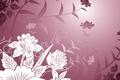 Картинка трава, Узоры, фон, листья