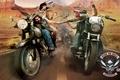 Картинка оружие, байк, поездка, кровь, мотоцикл, Retribution, Ride to Hell
