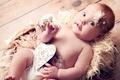 Картинка сердце, ангел, голубые глаза, heart, blue eyes, смешно, angel, funny, children, красивая девочка, beautiful little ...