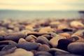 Картинка море, галька, камни
