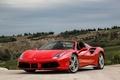 Картинка Ferrari, кабриолет, феррари, спайдер, Spider, 488