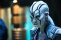 Картинка planet, another civilization, Sofia Boutella, movie, ufo, woman, girl, Star Trek, film, cinema, warrior, man, ...