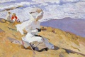 Картинка картина, склон, Поймать Момент, Хоакин Соролья, берег, женщины