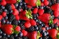 Картинка ягоды, малина, клубника, ежевика, голубика