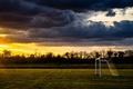 Картинка поле, ворота, спорт