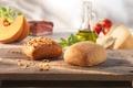 Картинка семена подсолнечника, итальянский хлеб, чиабатта, кунжут, выпечка, булочки, еда
