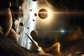 Картинка planet, galaxies, asteroids