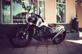 Картинка motorcycle, custom, bobber