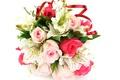 Картинка розы, альстромерия, букет, нежные, свадьба, flowers