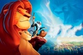 Картинка Симба, Мультфильм, Тимон и Пумба, Король лев