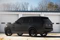 Картинка чёрный матовый, black matte, land rover, блик, range rover, профиль, ренж ровер, ленд ровер, чёрные ...