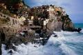 Картинка Италия, горы, волна
