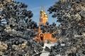 Картинка зима, Темиртау, собор, Россия