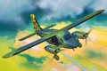 Картинка art, airplane, painting, aviation, Dornier Do 28 D2 Skyservant D-IRES