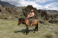 Картинка владимир путин, горы, природа, обои, премьер-министр россии, президент россии, лошадь, путин