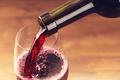 Картинка red, liquid, wine, bottle, drink, glass