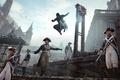 Картинка убийство, солдаты, ассасин, стража, гильотина, Assassin's Creed: Unity