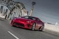 Картинка Lexus, bridge, red, lfa