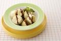 Картинка фон, десерт, сладкое, обои, тарелка, листья, шроколад, зелень, фрукты, еда, банан