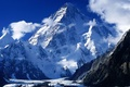 Картинка вода, пейзаж, горы, снежные горы