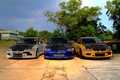 Картинка Lancer, три, тюнинг, EvolutionIXGT, Mitsubishi