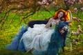 Картинка девушка, арт, фантазия, Agnieszka Lorek, Morning Star, Ophidia