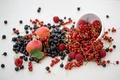 Картинка Julia Khusainova, красная, ягоды, малина, фрукты, черная, нектарин, смородина