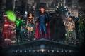 Картинка justice league, aquaman, wonder woman, batman, superman, flash