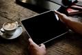 Картинка coffee table, tablet, coffe