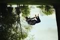 Картинка девушка, полёт, прыжок