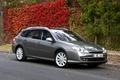 Картинка Renault, autumn, gray, Laguna