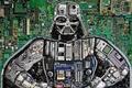 Картинка кнопки, микросхемы, Darth Vader, джойстики, Star Wars, Звездные Войны, Дарт Вейдер, детали